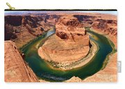 Horseshoe Bend - Nature's Awesome Work Carry-all Pouch