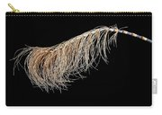 Horsetail On Black Carry-all Pouch