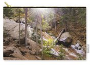 Horsethief Falls Sunburst - Cripple Creek Colorado Carry-all Pouch