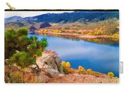 Horsetooth Lake Overlook Carry-all Pouch by Jon Burch Photography