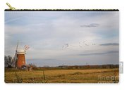 Horsey Windmill In Autumn Carry-all Pouch