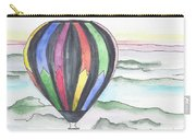Hot Air Balloon 12 Carry-all Pouch
