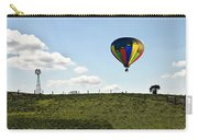 Hot Air Balloon In The Farmlands Carry-all Pouch