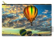 Hot Air Balloon Lift Off Carry-all Pouch