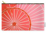 Hot Air Balloon Orange Carry-all Pouch