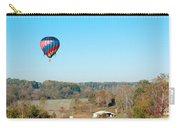 Hot Air Balloon Over Farm Land Carry-all Pouch