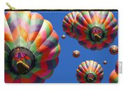 Hot Air Balloon Panoramic Carry-all Pouch by Edward Fielding