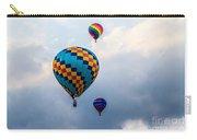 Hot Air Balloon Trio Carry-all Pouch