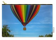 Hot Air Balloon Woodstock Vermont Carry-all Pouch by Edward Fielding