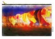 Hot Air Balloons Night Glow Photo Art 01 Carry-all Pouch