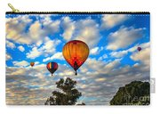 Hot Air Balloons Over Trees Carry-all Pouch