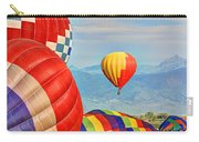 Hot Air Balloons Carry-all Pouch by Scott Mahon
