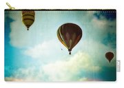 Hot Air Baloons In Blazing Sky Carry-all Pouch