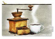 Hot Black Coffee Carry-all Pouch