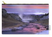 Hot Creek At Sunset Sierra Nevada Carry-all Pouch