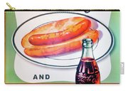 Hot Dog And A Coke Carry-all Pouch