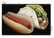 Hot Dog And Fish Taco Carry-all Pouch