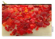 Hot Orange Beach Glass Carry-all Pouch