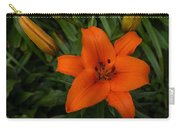 Hot Orange Lily  Carry-all Pouch