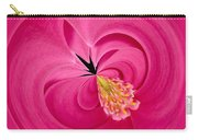 Hot Pink And Round Carry-all Pouch by Anne Gilbert