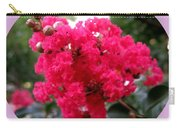 Hot Pink Crepe Myrtle Blossoms Carry-all Pouch
