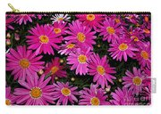 Hot Pink Daisies Carry-all Pouch