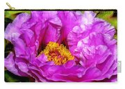 Hot-pink Flower Carry-all Pouch