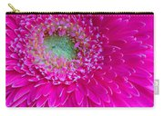Hot Pink Gerbera Daisy Carry-all Pouch