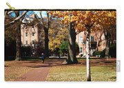 Hot Pink Hoodie - Davidson College Carry-all Pouch