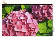Hot Pink Hydrangea Carry-all Pouch