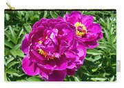 Hot Pink Peonies Carry-all Pouch