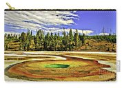 Prismatic Geyser Yellowstone National Park Carry-all Pouch