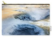 Hot Springs At Namaskard In Iceland Carry-all Pouch