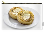 Hot Toasted Crumpets With Butter Carry-all Pouch