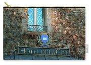 Hotel De La Cite Carry-all Pouch by France  Art