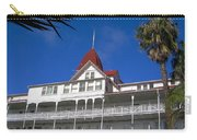 Hotel Del Courtyard View Carry-all Pouch