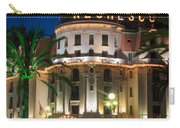 Hotel Negresco By Night Carry-all Pouch by Inge Johnsson
