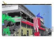 Hotel  Orndorff Colored American Flags Tucson Arizona Circa 1915-2012 Carry-all Pouch