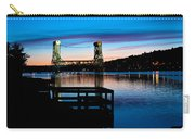 Houghton Bridge Sunset Carry-all Pouch