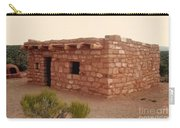 House At The Timbisha Shoshone Homeland Carry-all Pouch