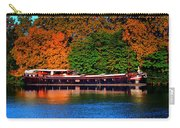 House Boat River Barge In France Carry-all Pouch