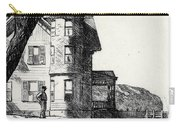 House By A River Carry-all Pouch by Edward Hopper