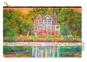 House By The Tidal Creek At Pawleys Island Carry-all Pouch