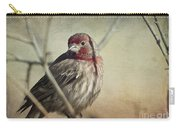 House Finch Two Carry-all Pouch