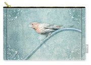 House Finch With Colored Sketch Effect Carry-all Pouch