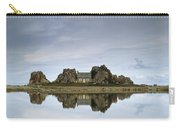 House In Between Rocks Reflected Carry-all Pouch