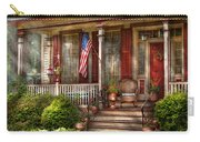 House - Porch - Belvidere Nj - A Classic American Home  Carry-all Pouch