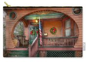 House - Porch - Metuchen Nj - That Yule Tide Spirit Carry-all Pouch