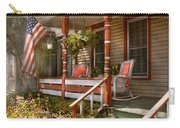 House - Porch - Traditional American Carry-all Pouch by Mike Savad