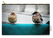 House Sparrows Carry-all Pouch